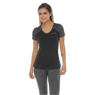 Camiseta-Deportiva-manga-corta-negro-gris-para-mujer