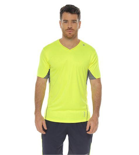 Camiseta-manga-corta-color-verde-lima-para-hombre