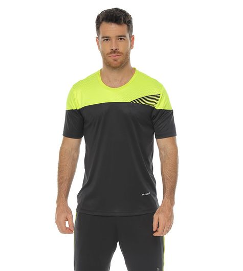 Camiseta-Deportiva-manga-corta-negro-para-hombre