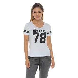 Camiseta-Manga-Corta-estampada-blanco-para-mujer