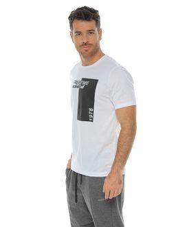 Camiseta-Manga-Corta-cuello-redondo-blanco-para-hombre