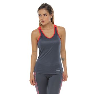 Camiseta-Esqueleto-con-cargaderas-en-contraste-gris-oscuro-para-mujer