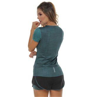Camiseta-Deportiva-manga-corta-verde-oscuro-para-hombre