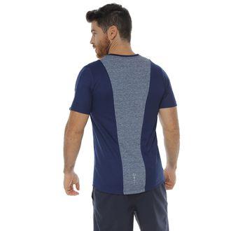 Camiseta-Deportiva-manga-corta-azul-oscuro-para-hombre