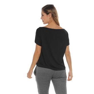 Camiseta-Manga-Corta-silueta-amplia-negro-para-mujer