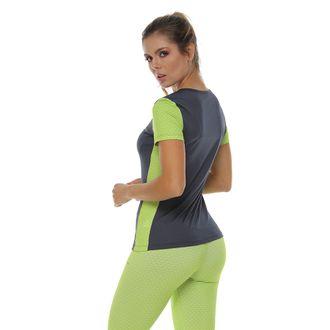 Camiseta-Deportiva-Sublimada-en-contraste-gris-oscuro-para-mujer