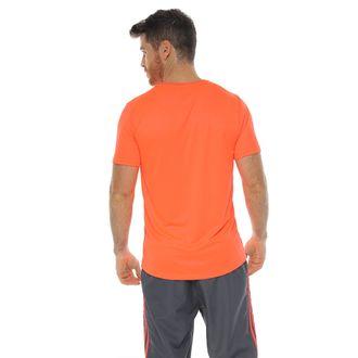 Camiseta-Deportiva-cuello-redondo-sublimada-naranja-para-hombre