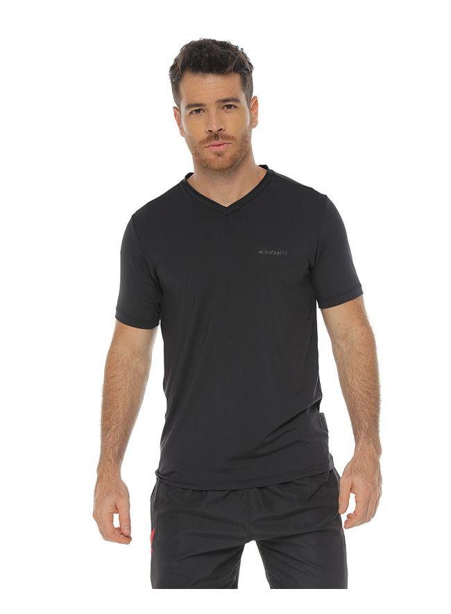Camiseta-Basica-Deportiva-color-negro-para-hombre
