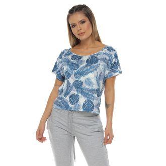 Camiseta-escote-color-azul-para-mujer