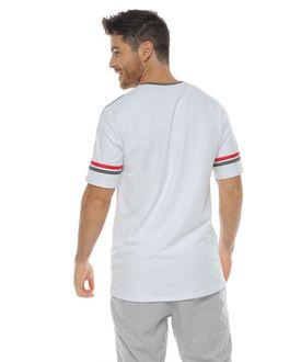 Camiseta-Cuello-redondo-color-blanco-para-hombre