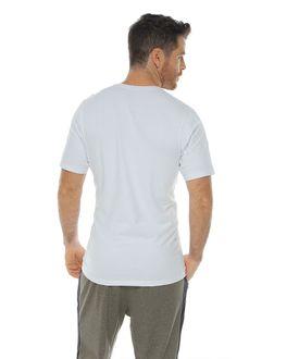 Camiseta-Estampada-Cuello-redondo-color-blanco-para-hombre