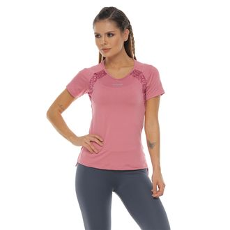 Camiseta-Manga-corta-color-rosa-para-mujer