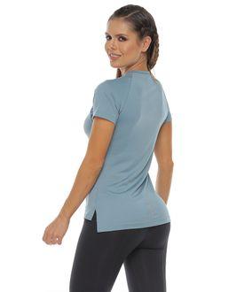 Camiseta-Manga-corta-color-gris-para-mujer