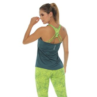 Camiseta-Deportiva-Esqueleto-color-verde-para-mujer