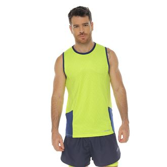 Camiseta-Deportiva-esqueleto-color-verde-lima-para-hombre