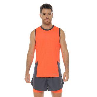 Camiseta-Deportiva-esqueleto-color-naranja-para-hombre