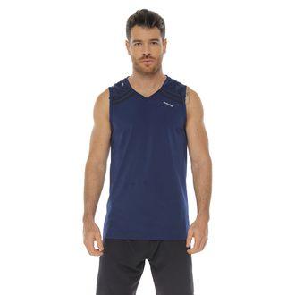 Camiseta-Deportiva-esqueleto-color-azul-oscuro-para-hombre