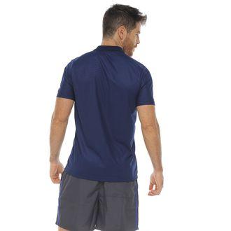 Camiseta-polo-deportiva-color-azul-oscuro-para-hombre---L