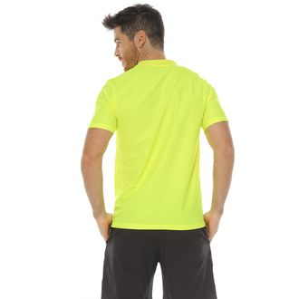 Camiseta-polo-deportiva-color-verde-lima-para-hombre---S