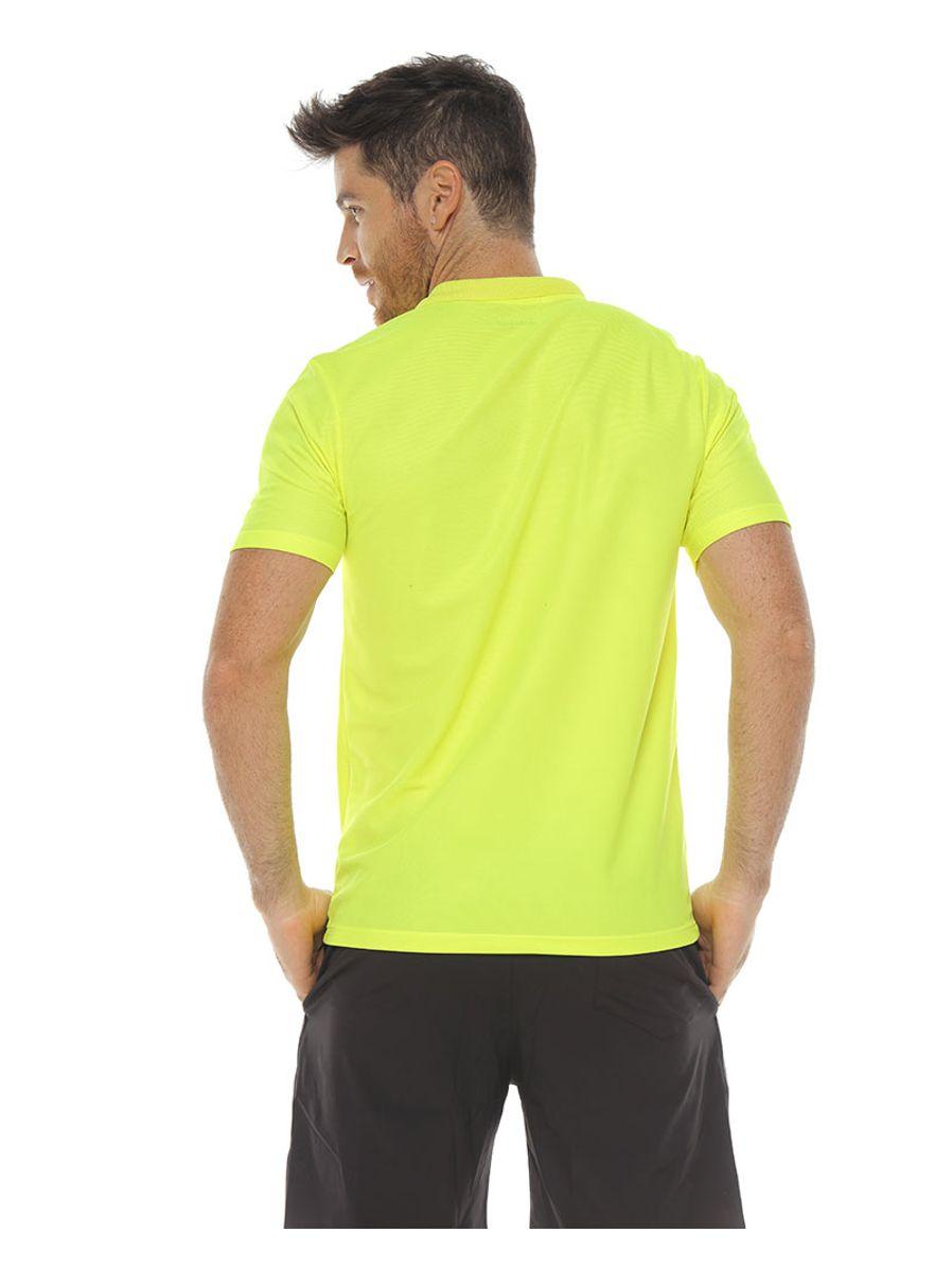 Camiseta-polo-deportiva-color-verde-lima-para-hombre---XXL