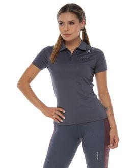 Camiseta-Deportiva-polo-color-gris-oscuro-para-mujer