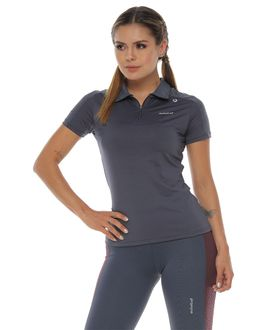 Camiseta-Deportiva-polo-color-gris-oscuro-para-mujer