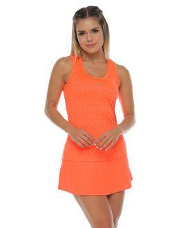 Camiseta-deportiva-esqueleto-naranja-para-mujer