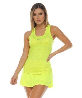 Camiseta-deportiva-esqueleto-verde-lima-para-mujer