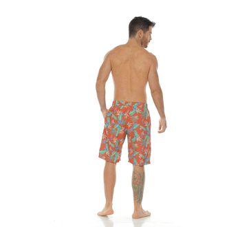 Pantaloneta-de-Baño-Sublimada-naranja-para-hombre