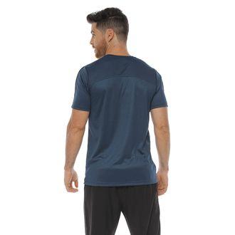 Camiseta-Deportiva-manga-corta-color-azul-petroleo-para-hombre