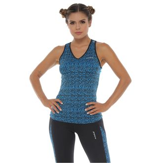 Camiseta-Deportiva-Esqueleto-color-turquesa-para-mujer