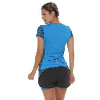 Camiseta-Deportiva-manga-corta-color-turquesa-para-mujer