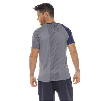 Camiseta-Deportiva-Manga-Corta-color-gris-medio-para-hombre