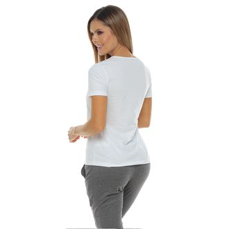 Camiseta-Manga-Corta-estampada-color-blanco-para-mujer