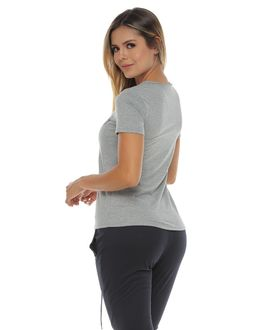 Camiseta-Manga-Corta-estampada-color-gris-jaspe-para-mujer
