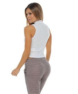 Camiseta-manga-sisa-cuello-alto-color-blanco-para-mujer