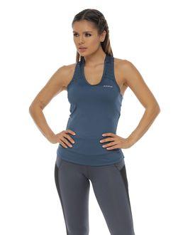 Camiseta-Deportiva-Esqueleto-color-azul-petroleo-para-mujer