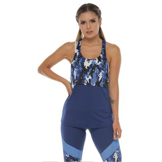 Camiseta-Deportiva-Esqueleto-color-azul-para-mujer