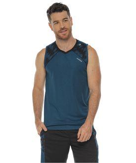 Camiseta-Deportiva-Esqueleto-color-azul-petroleo-para-hombre