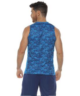 Camiseta-Deportiva-Esqueleto-color-turquesa-para-hombre