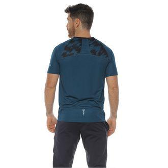 Camiseta-Deportiva-Manga-Corta-Color-Azul-Petroleo--Para-Hombre