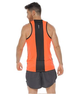 Camiseta-Esqueleto-Deportiva-color-naranja-neon-para-hombre