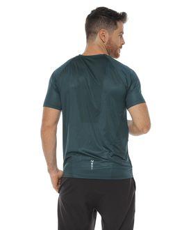 Camiseta-Deportiva-manga-corta-color-verde-oscuro-para-hombre