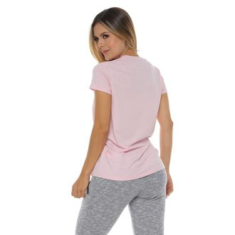 Camiseta-Manga-Corta-estampada-color-rosado-para-mujer