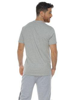 Camiseta-manga-corta-color-gris-jaspe-para-hombre