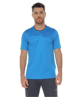 Camiseta-Deportiva-manga-corta-color-turquesa-para-hombre