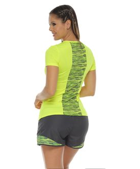 Camiseta-Deportiva-manga-corta-color-verde-lima-para-mujer