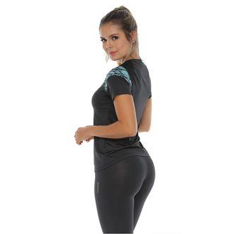 Camiseta-Deportiva-manga-corta-color-negro-para-mujer