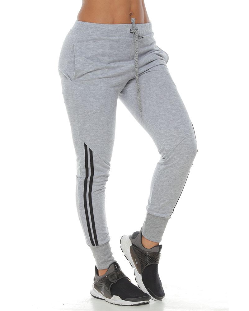 Pantalon Jogger Color Negro Para Mujer Racketball Movil